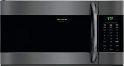 Frigidaire 1.7 Cu. Ft. Over-The-Range Microwave (Black Stainless Steel)