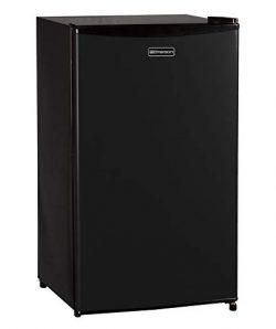 Emerson CR330BE 3.3 Cubic Foot Compact Single Door Refrigerator Black