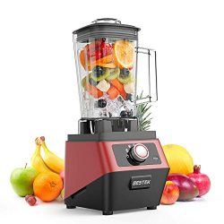 BESTEK 1400 Watts Commercial Blender with 2L BPA Free Pitcher, 3-Speed Control Programmed Settin ...