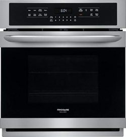 Frigidaire FGEW2766UF 27 Inch 3.8 cu. ft. Total Capacity Electric Single Wall Oven with 2 Oven R ...