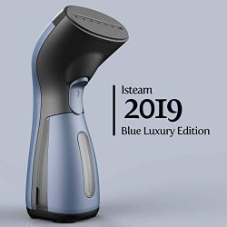 iSteam Steamer [Luxury Edition] [2019] 8-in-1 Powerful Use: Clothes Wrinkle Remover-Clean-Steril ...