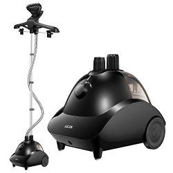 AICOK Full Size Steamer for Clothes, Garments and Fabrics 1500W Professional Heavy Duty Clothes  ...