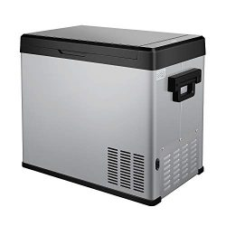 54 Quart Portable RV Refrigerator/Freezer Compact Vehicle Car Fridge Compressor Electric Cooler  ...