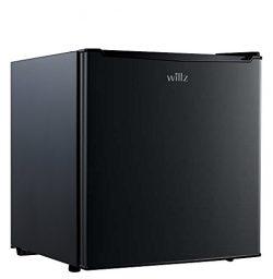 Willz WLR17BK 1.7 cu.ft. Refrigerator Single Door/ Chiller, Black