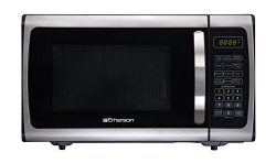 Emerson Radio Emerson ER105005 Single Microwave Oven – Stainless Steel, Black, 0.9,