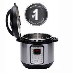 New Instant Pot 8 QT Viva 9-in-1 Multi-Use Programmable Pressure Cooker with recipe book