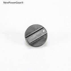 NewPowerGear Range Top Burner Control Knob Replacement For KGCT365TBL1, KGCT365TBL2, KGCT365TWH0 ...