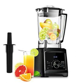 Decen Blender Smoothie Maker Smoothie Blender 1450W High 9 Speed with 6-Fin Titanized Extractor  ...