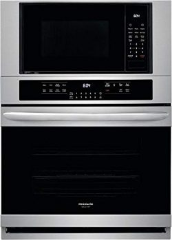 Frigidaire FGMC3066UF Gallery Series 30 Inch Electric Oven/Microwave Combo Double Wall Oven in S ...