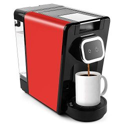 CHULUX Upgrade Capsule Coffee Machine with Touch Setting Include Indicator Light for Big and Sma ...