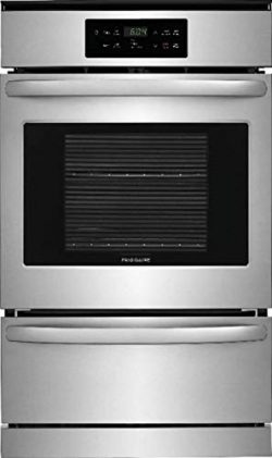 Frigidaire FFGW2426US 24 Inch 3.3 cu. ft. Total Capacity Gas Single Wall Oven with Storage, in S ...
