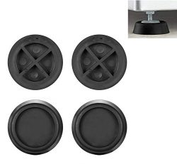 Anti Vibration Pad for Washer and Dryer – Rubber Pad Feet for Washing Machine and Dryer, U ...
