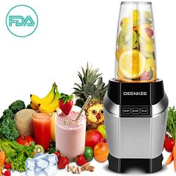 Blender, Smoothie Blender, Personal Blender, Blender For Shakes And Smoothies, Stainless Steel J ...