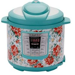 Instant Pot Pioneer Woman LUX60 Breezy Blossoms 6 Qt 6-in-1 Multi-Use Programmable Pressure Cook ...