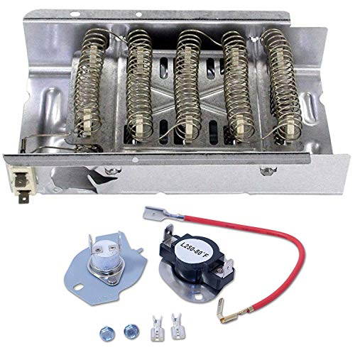 Siwdoy 279838 Dryer Heating Element And 279816 Thermostat