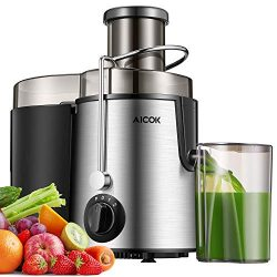 Centrifugal Juicer, Juice Extractor with Best pulp filter, 3″ Feed ChuteJuicer Machine for ...
