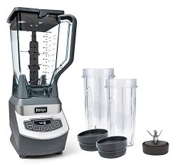 Original Ninja BL660 Professional Blender With 72-oz. Blending Jar, 2 16-oz. Nutri Ninja Cups, 1 ...
