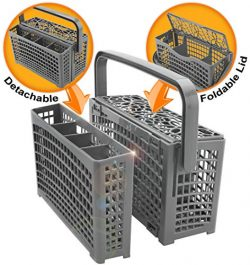 Universal Dishwasher Silverware Replacement Basket – Utensil/Cutlery Basket – Fits B ...