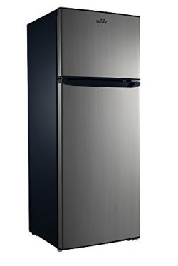 Willz 7.6 Cu Ft Refrigerator Dual Door True Freezer, DOE