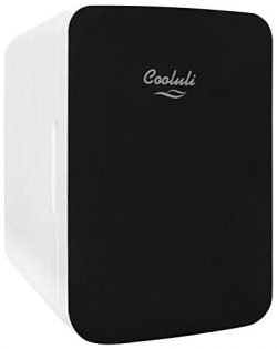 Cooluli Infinity 10-liter Compact Cooler/Warmer Mini Fridge for Cars, Road Trips, Homes, Offices ...
