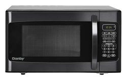 Danby DMW1110BLDB 1.1 cu. ft. Microwave Oven, Black, cu.ft