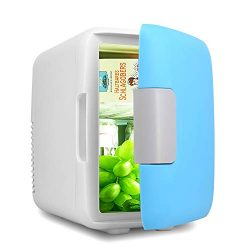 Mini Fridge, Car Fridge Portable Compact Refrigerator Electric Cooler & Warmer(4 Liter / 7  ...