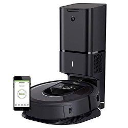 iRobot Roomba i7+ (7550) Robot Vacuum with Automatic Dirt Disposal- Wi-Fi Connected, Smart Mappi ...
