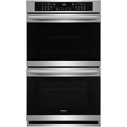 Frigidaire Gallery 30″ Smudge-Proof Stainless Steel Double Electric Wall Oven