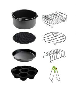 CAXXA XL Air Fryer Accessories Compatible with Gowise, Cozyna and Phillips, Fit all 4.2QT – ...