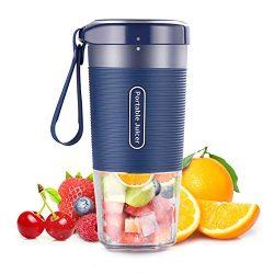 Cordless Personal Blender Juicer Maker, Portable Blender Mini Juicer mixer, Waterproof Smoothie  ...