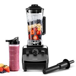 COSORI Blender for Shakes and Smoothies(50 Recipes),1400W Heavy Duty Professional Blender for Cr ...