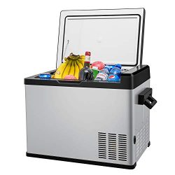 42 Quart Portable RV Refrigerator/Freezer Compact Vehicle Car Fridge Compressor Electric Cooler  ...