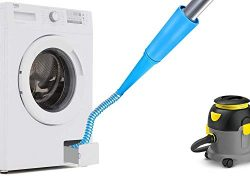 Lint Vacuum Hose Attachment Remove Lint from Dryer Vent Clean Up Narrow Space Avoid Potential Da ...