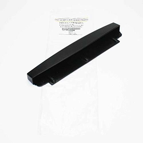 Whirlpool Part Number 9872040B: Handle. Container (Black)
