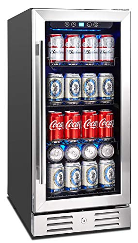 Kalamera Beverage Cooler and Fridge – Fit Perfectly into 15 inch Space Under Counter or Fr ...
