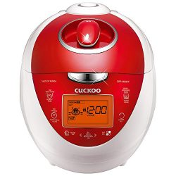 Cuckoo Multifunctional & Programmable Electric Pressure Rice Cooker with a 6 Cup Diamond Coa ...