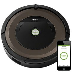 iRobot Roomba 890 Robot Vacuum- Wi-Fi Connected, Works with Alexa,  Ideal for Pet Hair, Carpets, ...
