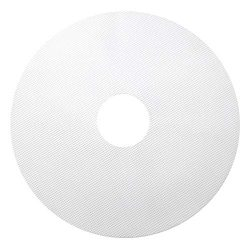 GUCUJI Pack of 5 Premium Non stick Round Silicone Dehydrator Sheets For Fruit Dryer Mesh