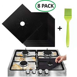 Stove Burner Covers – Gas Range Protectors Countertop Accessories for Kitchen Reusable, No ...