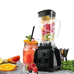 Kenwell 1450W Professional Blender 66oz High-Speed Blender/Mixer System, Shakes Smoothies Ice an ...