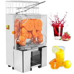 SUNCOO Commercial Orange Juice Machine Automatic Electric Citrus Fruit Juicer Making Machine Hea ...