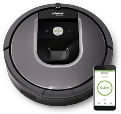iRobot Roomba 960 Robot Vacuum- Wi-Fi Connected Mapping, Works with Alexa,  Ideal for Pet Hair,  ...