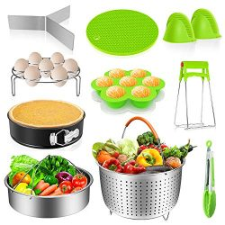 Instant Pot Accessories Set 14 Pcs, Pressure Cooker Accessories Fit Instant Pot 6,8 Qt – S ...
