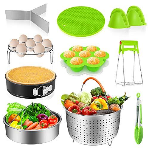 Instant Pot Accessories Set 14 Pcs, Pressure Cooker Accessories Fit Instant Pot 6,8 Qt – S ...