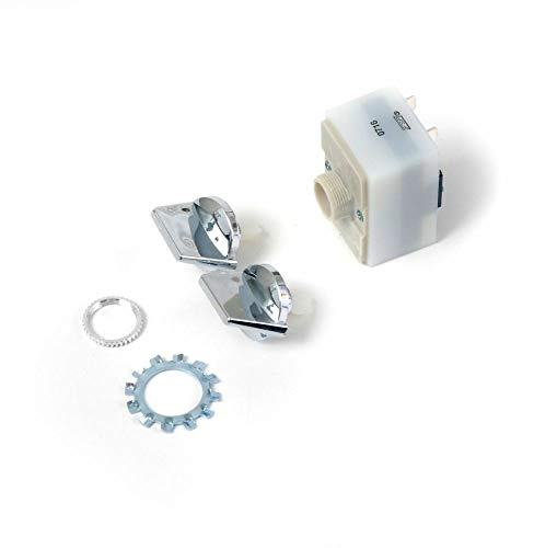 675382 Trash Compactor On Off Start Switch and Knob For Whirlpool Maytag