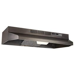 Broan F4030BLS Convertible Range Hood, 30 inch, Black Stainless Steel
