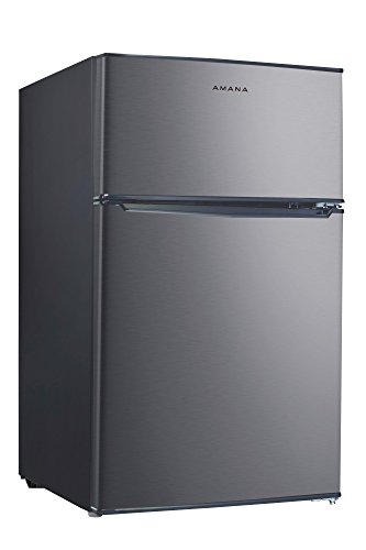 Amana AMAR31TS1E 3.1 cu. Ft. Two Door Compact Refrigerator, Stainless Steel