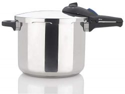 Zavor ZPot 10 Quart 15-PSI Pressure Cooker and Canner – Polished Stainless Steel (ZCWSP03)