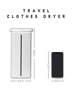 Kasydoff Portable Clothes Dryer Personal Electric Laundry Drying Rack 33 LB Capacity Folding Clo ...