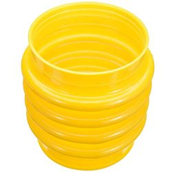 DORATA – New 17.5cm Jumping Jack Bellows Boot Yellow For Wacker Rammer Compactor Tamper Po ...